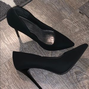 Black Matte Heels